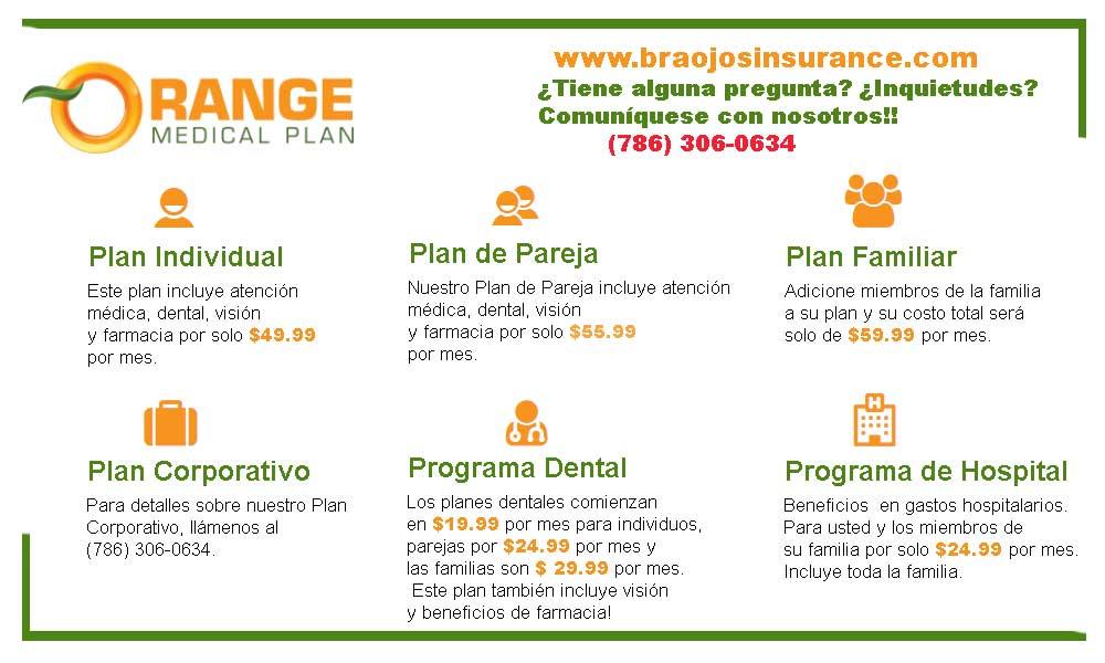 Orange Medical Plan - Planes Medicos en Miami