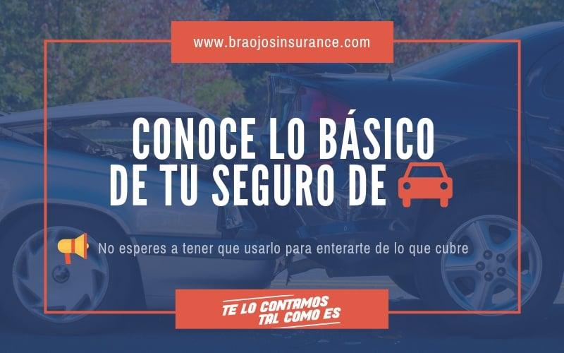 Tipos de coberturas de seguro de auto