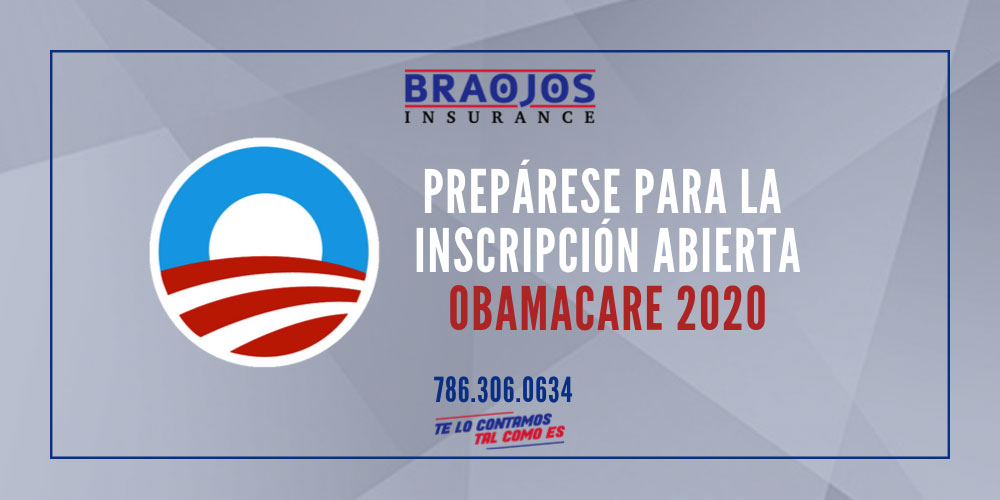 Prepárate para la inscripcion abierta de obamacare 2020