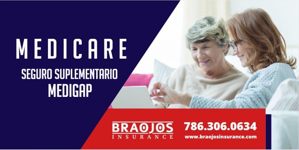 medigap plan suplementario de medicare